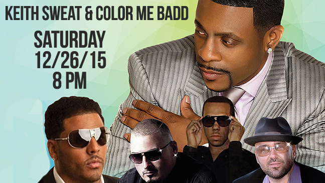 Limo Service to Keith Sweat & Color Me Badd
