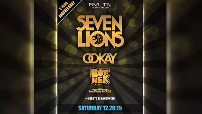 Limo Service to Hard Rock for RVLTN 2 Year Anniversary Seven Lions