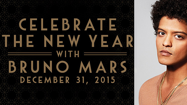 Limo Service to Bruno Mars @ the Cosmopolitan New Years Eve