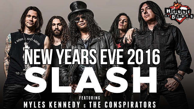 House of Blues Limo Service to Slash featuring Myles Kennedy and The Conspirators