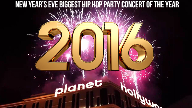 Limo Service to Planet Hollywood New Years Eve 2016