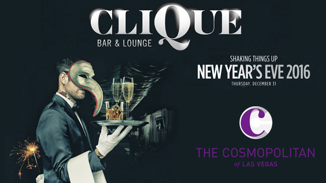 Luxury Limo Service to CLIQUE Bar & Lounge - New Year's Eve Las Vegas
