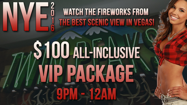 Limo Service to Twin Peaks Las Vegas NYE Party!