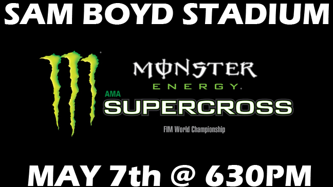 Limo Service to 2016 Monster Energy Supercross Finals in Las Vegas