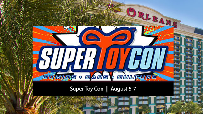 Limo Service to 2016 Super Toy Con in Las Vegas Nevada