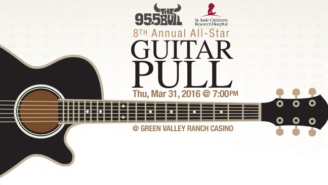 Limo Service to 95.5 The Bull's 8th Annual Guitar Pull in Las Vegas