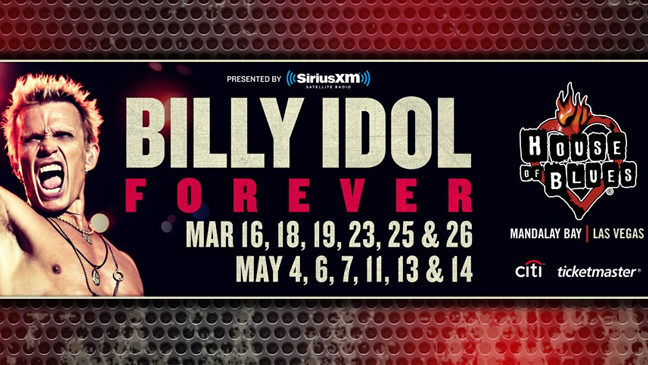 Limo Service to see Billy Idol: Forever at House of Blues