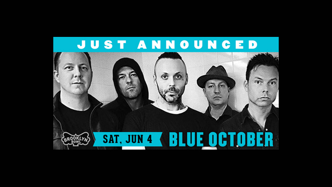 Blue October at Brooklyn Bowl