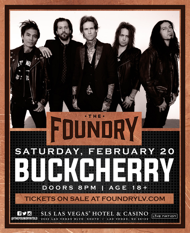 Buckcherry at SLS Las Vegas