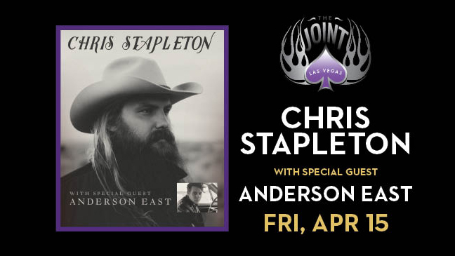 Chris Stapleton with Special Guest Anderson East