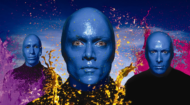 Las Vegas Limo Service to Blue Man Group at Luxor from 24/7 Limousines