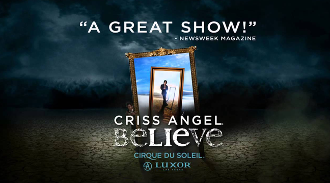 Las Vegas Limousine Service to see Criss Angel Believe from Cirque du Soleil