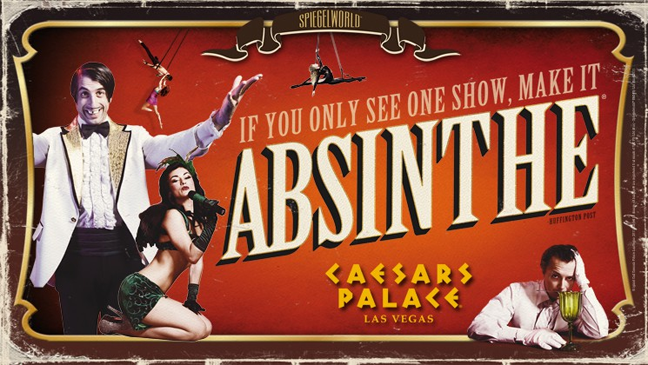 Limo Service to see Absinthe at Caesars Palace