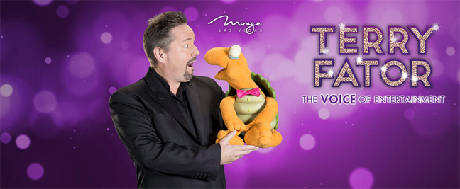 Limousine Service to Terry Fator: The Voice of Entertainment