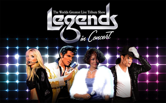 Las Vegas Limousine Service to see Legends in Concert at the Flamingo
