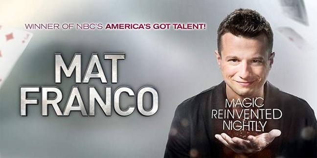 Limo Service to Mat Franco Comedy Show at the Linq Las Vegas