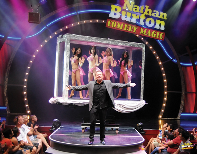 Nathan Burton Comedy Magic Limo Service from 24/7 Limousines
