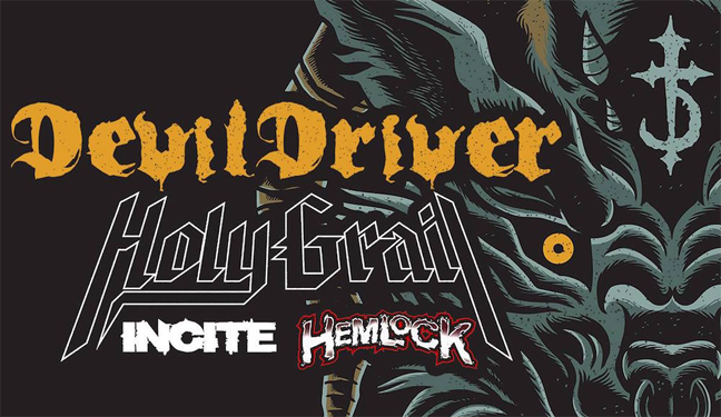Limo Service to DevilDriver w/Holy Grail, Incite, Hemlock at Hard Rock Las Vegas
