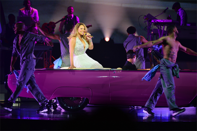 Limo Service to see Mariah Carey #1 to Infinity at Caesars Palace Las Vegas