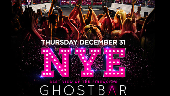 Limo Service to Ghostbar New Years Eve at The Palms