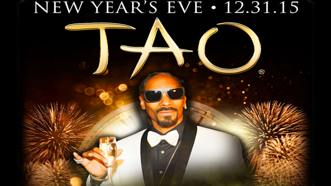 Limo Service to New Years Eve Snoopadelic Cabaret at Tao Nightclub