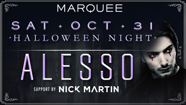Vegas Limos available for 2015 Marquee Halloween Night at The Cosmopolitian of Las Vegas