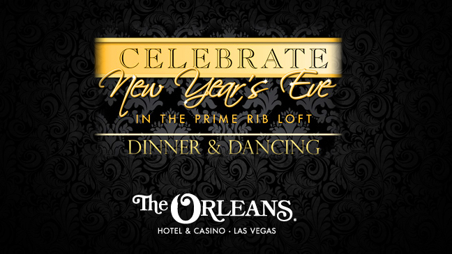 Limo Service to New Year's Eve Dinner & Dancing Celebration at Orleans Hotel and Casino
