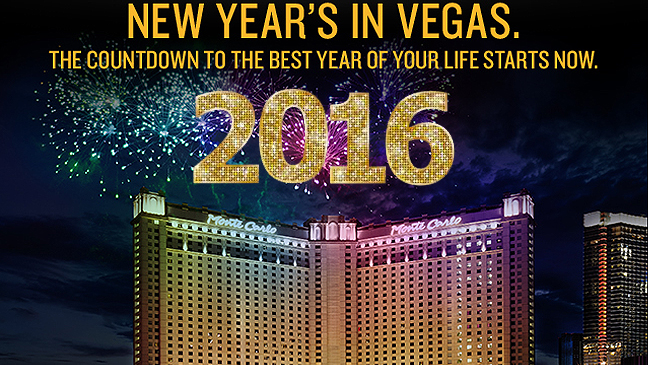 Limousine Service to Monte Carlo Resort & Casino for New Years Eve 2016