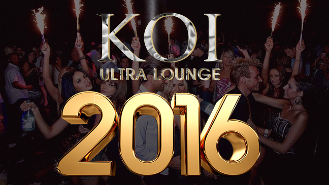 Koi Ultra Lounge New Years Eve 2016 Limousine Service from 24/7 Limousines