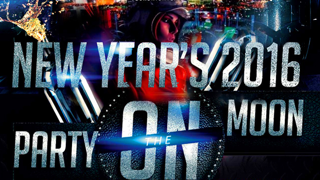 Limo Service for Party on the Moon New Years Eve 2016 at The Palms Casino