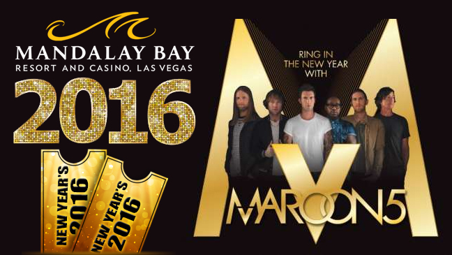 Limo Service to Mandalay Bay Events Center New Years Eve 2016 from 24/7 Limousines