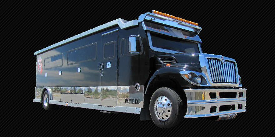 the Vault - Armored Truck Limo
